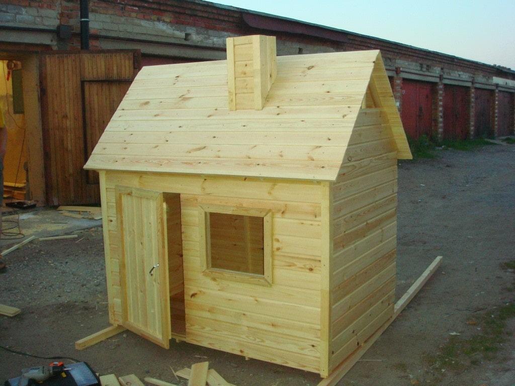 Детский игровой домик проект № 2